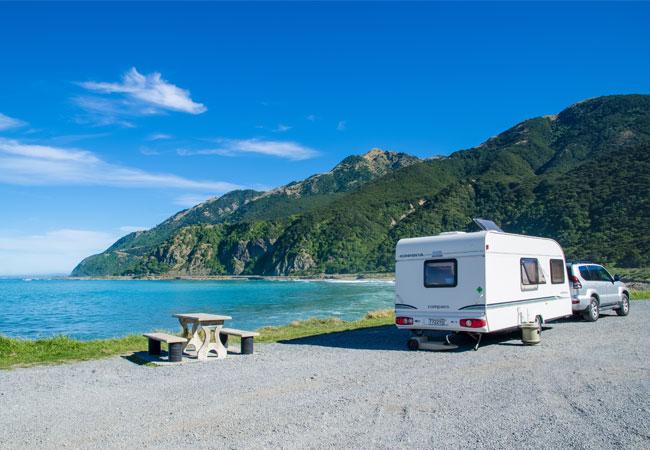 ¤ Vær sikker når du lejer en campingvogn