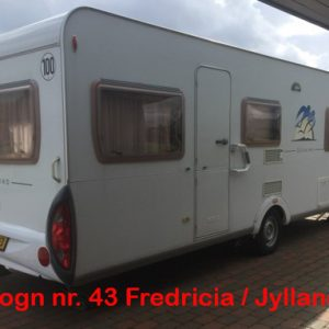 38 Knaus Sudwind 580 Fra kr. 2900,- pr. uge TV 1500 kg. / FREDERICIA