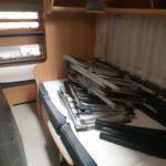 62 TEC Travel King 510 med køjer Fra kr. 3500,- pr. uge / FærdigPakke (Gammelbro Camping Haderslev)