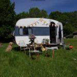 21.2 Adria IMV 380 (RETRO Campingvogn) Fra kr. 2200,- TV 750 kg. / RINGSTED