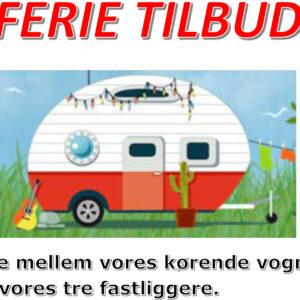 0 FERIE TILBUD Til de korte feriedage fra kr. 1500,00